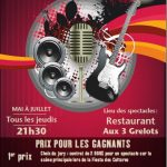 Affiche concours musical